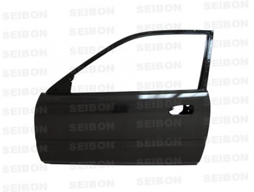 OEM-style carbon fibre doors for 1996-2000 Honda Civic 2DR *OFF ROAD USE ONLY! (pair)