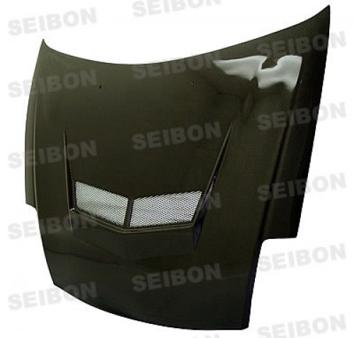 VSII-style carbon fibre bonnet for 2000-2005 Mitsubishi Eclipse