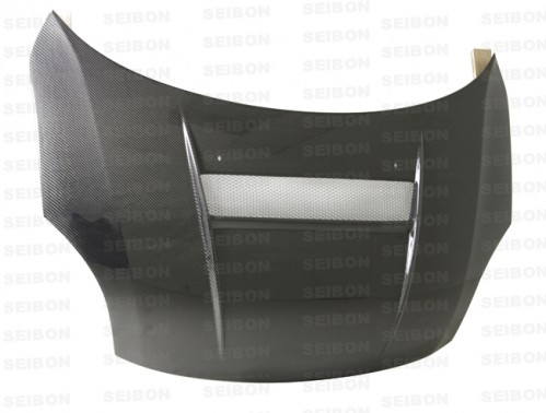 VSII-style carbon fibre bonnet for 2005-2007 Suzuki Swift