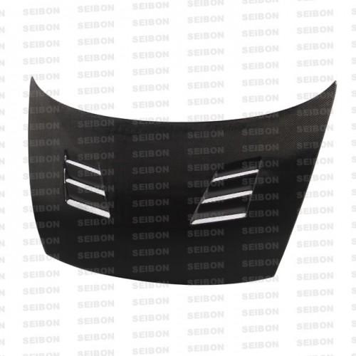 TM-style carbon fibre bonnet for 2006-2010 Honda Civic 4DR