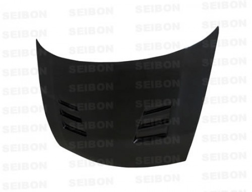 TS-style carbon fibre bonnet for 2006-2010 Honda Civic 4DR JDM / Acura CSX