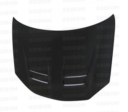 DV-style carbon fibre bonnet for 2006-2009 VW Golf GTI (Shaved)