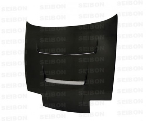 DV-style carbon fibre bonnet for 1989-1994 Nissan 240SX