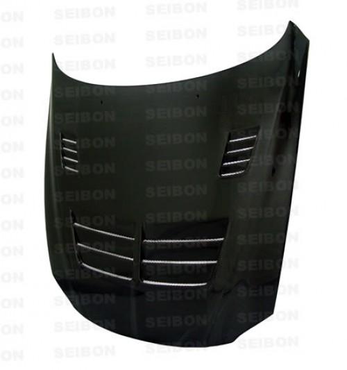 TSII-style carbon fibre bonnet for 1992-2000 Lexus SC300/SC400