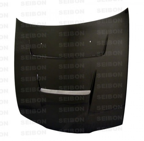 DV-style carbon fibre bonnet for 1995-1996 Nissan 240SX
