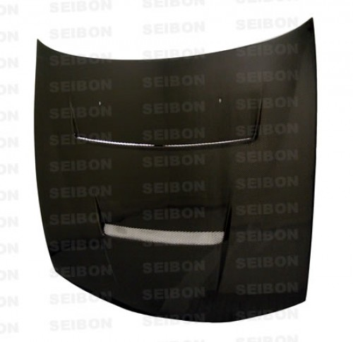 DV-style carbon fibre bonnet for 1997-1998 Nissan 240SX