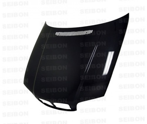 OEM-STYLE CARBON FIBRE BONNET FOR 2000-2003 BMW E46 3 SERIES COUPE