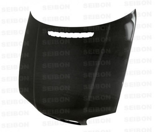 OEM-STYLE CARBON FIBRE BONNET FOR 1999-2001 BMW E46 3 SERIES SALOON