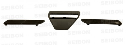 OEM-STYLE CARBON FIBRE BONNET SCOOP FOR 2008-2015 MITSUBISHI LANCER EVO X