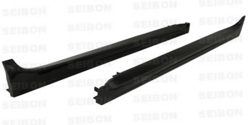OEM-STYLE CARBON FIBRE SIDE SKIRTS FOR 2008-2015 MITSUBISHI LANCER EVO X