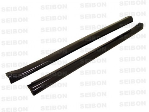 MG-style carbon fibre side skirts for 1992-1995 Honda Civic HB