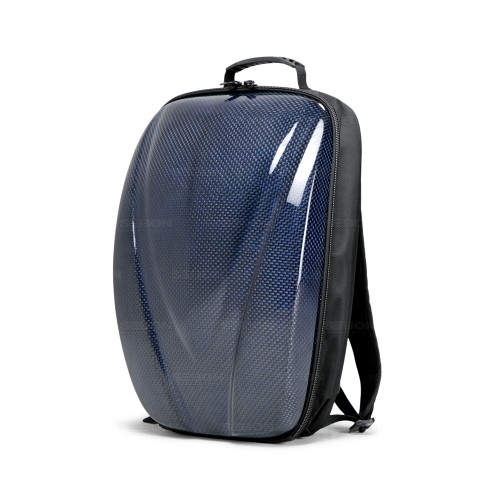 CARBON FIBRE HARD SHELL BACKPACK - Blue