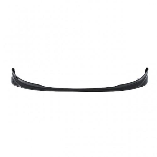 OEM-style carbon fibre front lip for 2007-2008 Toyota Yaris Liftback (straight weave)