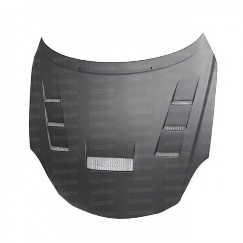 TV-style DRY CARBON fibre bonnet for 2001-2010 Lexus SC430 *ALL DRY CARBON PRODUCTS ARE MATTE FINISH!