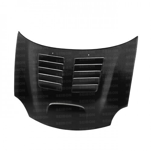 GT-style carbon fibre bonnet for 2003-2005 Dodge Neon SRT-4