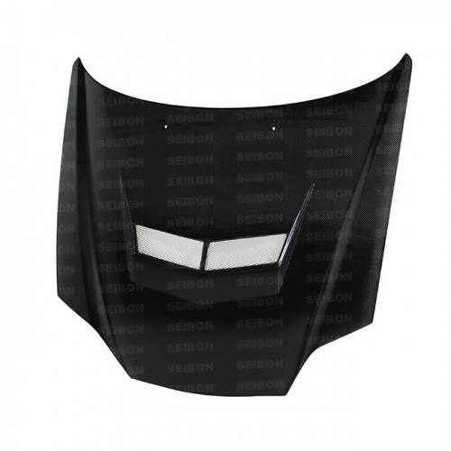 VSII-style carbon fibre bonnet for 2003-2006 Hyundai Tiburon