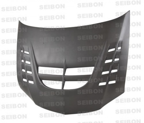 CWII-STYLE DRY CARBON BONNET FOR 2003-2007 MITSUBISHI LANCER EVO*