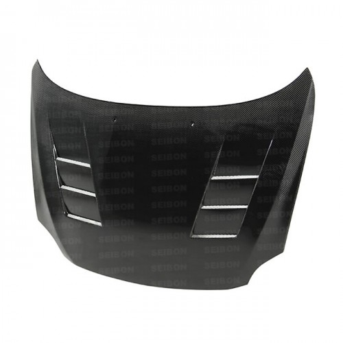 TS-style carbon fibre bonnet for 2005-2010 Scion TC