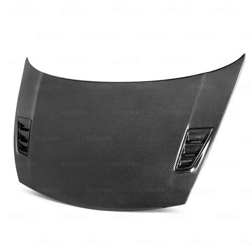 MGII-style carbon fibre bonnet for 2006-2010 Honda Civic 4DR JDM / Acura CSX