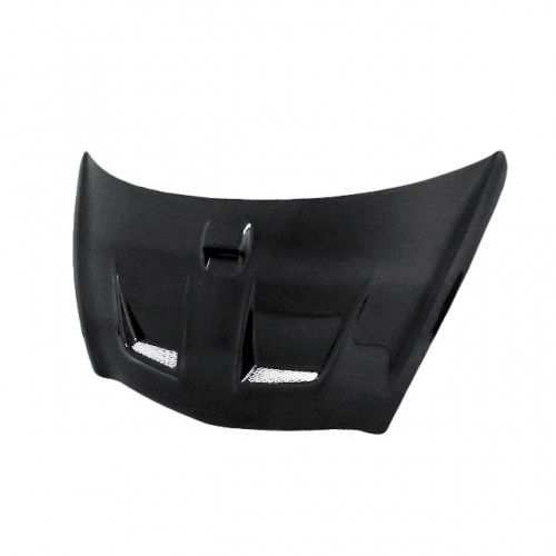 MG-Style Carbon fibre bonnet for 2007-2008 Honda Fit (Straight Weave)