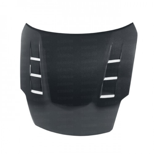 TS-STYLE CARBON FIBRE BONNET FOR 2007-2008 NISSAN 350Z*