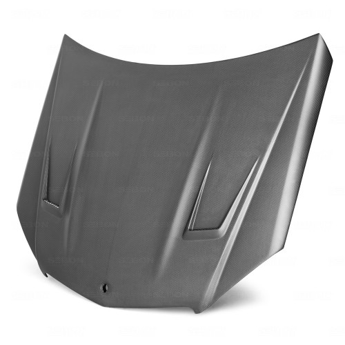 GT-STYLE DRY CARBON BONNET FOR 2008-2011 MERCEDES-BENZ C63 AMG*