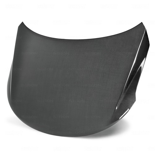 OEM-style carbon fibre bonnet for 2009-2010 Kia Forte