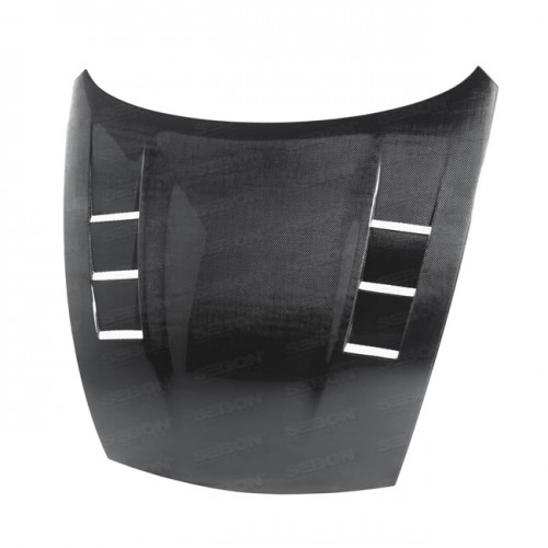 TS-style carbon fibre bonnet for 2009-2014 Nissan 370Z