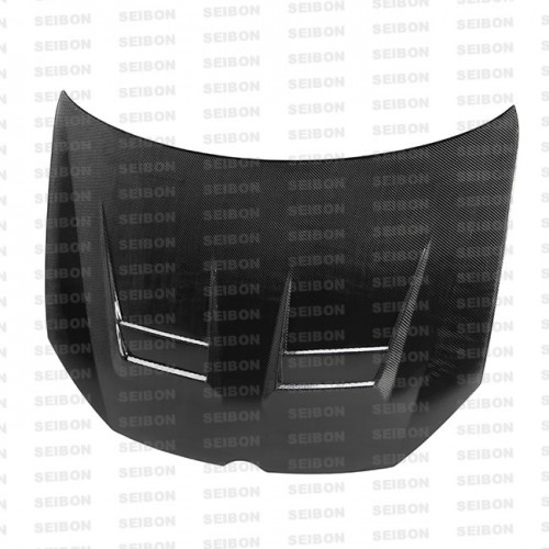 DV-style carbon fibre bonnet for 2010-2014 VW Golf / GTI