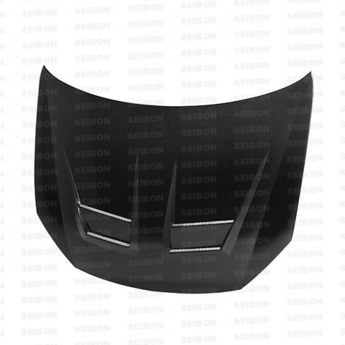DV-style carbon fibre bonnet for 2010-2014 VW Golf / GTI (Shaved)