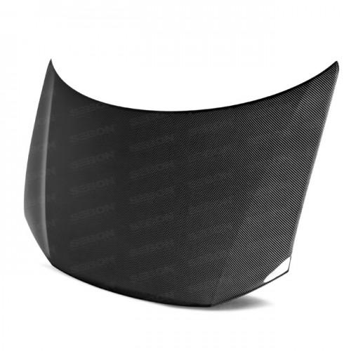 OEM-Style Carbon fibre bonnet for 2013-2015 Honda Civic 4DR
