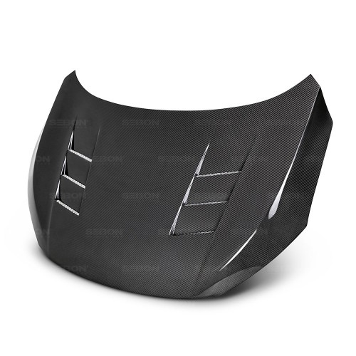 TS-STYLE CARBON FIBRE BONNET FOR 2016-2018 HONDA CIVIC