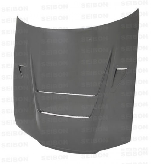 DVII-style carbon fibre bonnet for 1990-1994 Nissan Skyline R32