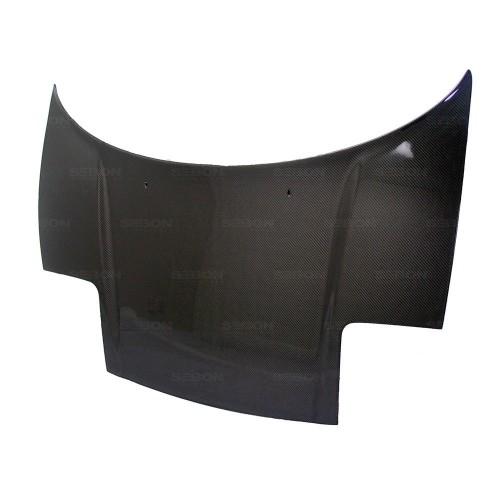 OEM-STYLE CARBON FIBRE BONNET FOR 1992-2001 ACURA NSX - Straight Weave