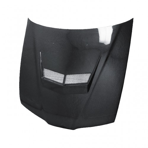 VSII-Style Carbon fibre bonnet for 1992-1996 Honda Prelude (Straight Weave)