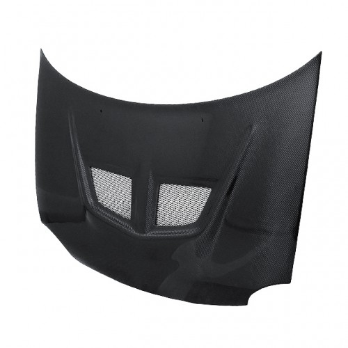 EVO-Style Carbon fibre bonnet for 1994-1999 Dodge Neon (Straight Weave)
