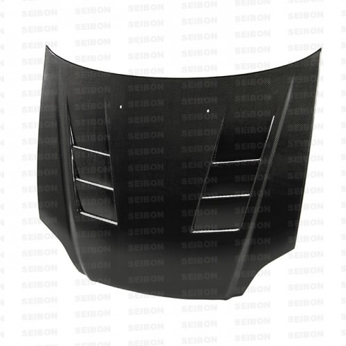 TS-style carbon fibre bonnet for 1999-2000 Honda Civic