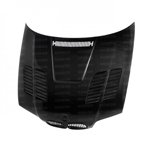 GTR-STYLE CARBON FIBERE BONNET FOR 2000-2003 BMW E46 3 SERIES COUPE*