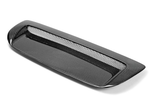 VSII-STYLE CARBON FIBRE BONNET SCOOP FOR 2010-2013 MAZDA MAZDASPEED3
