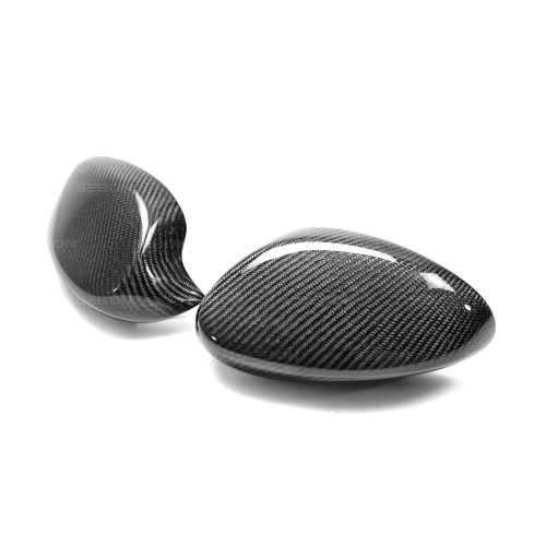 CARBON FIBRE MIRROR COVER CAPS FOR 2007-2010 BMW E92 3 SERIES COUPE