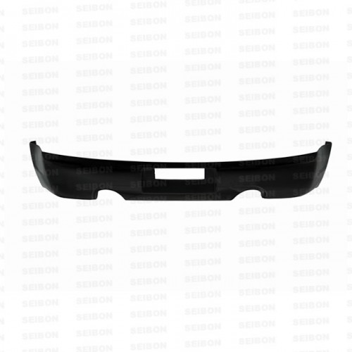 TS-STYLE CARBON FIBRE REAR LIP FOR 2003-2007 INFINITI G35 COUPE