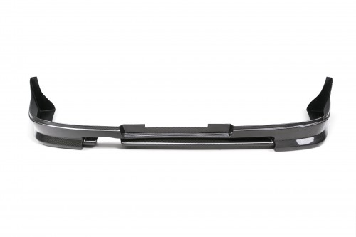 CW-STYLE CARBON FIBRE REAR LIP FOR 2006-2007 SUBARU IMPREZA / WRX / STI SALOON - Straight Weave