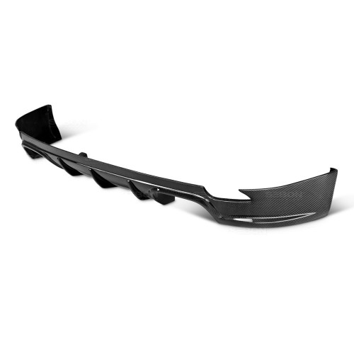 OEM-STYLE CARBON FIBRE REAR LIP FOR 2008-2014 SUBARU STI / 2011-2014 WRX HATCHBACK
