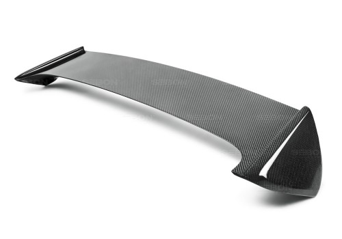 STI-STYLE CARBON FIBRE REAR SPOILER FOR 2008-2014 SUBARU WRX / STI HATCHBACK*