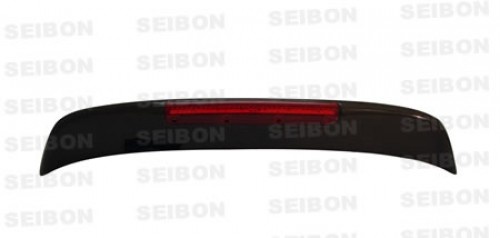 SP-style carbon fibre rear spoiler w/LED for 1992-1995 Honda Civic HB