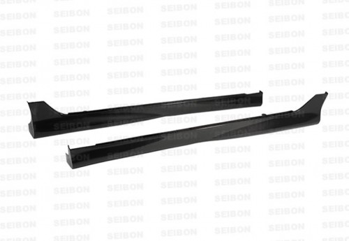 TR-style carbon fibre side skirts for 2006-2010 Honda Civic 4DR