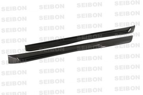 TT-style carbon fibre side skirts for 2006-2009 Volkswagen Golf GTI