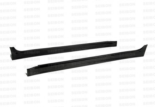 VR-STYLE CARBON FIBRE SIDE SKIRTS FOR 2008-2015 MITSUBISHI LANCER EVO X