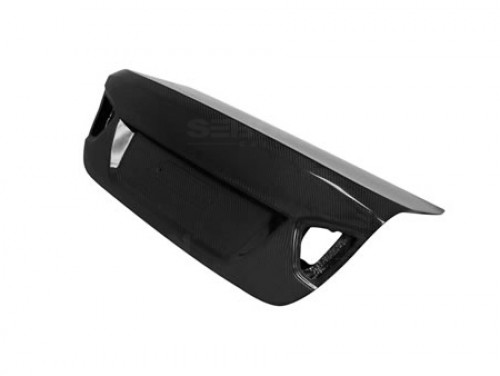 OEM-STYLE CARBON FIBRE BOOT LID FOR 2006-2008 BMW E90 3 SERIES / M3 SALOON - Straight Weave
