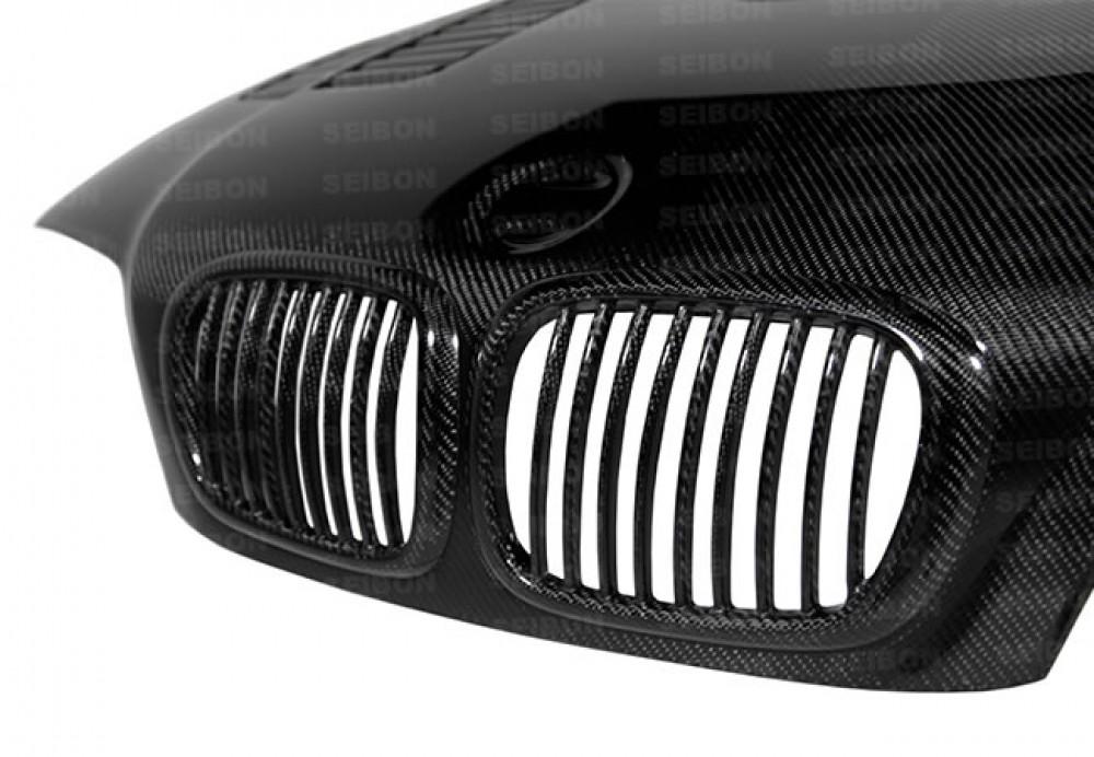 Gtr Style Carbon Fibere Bonnet For 2000 2003 Bmw E46 3 Series Coupe